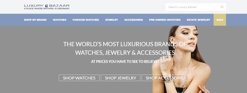photo of grey market watch dealer Luxury Bazaar