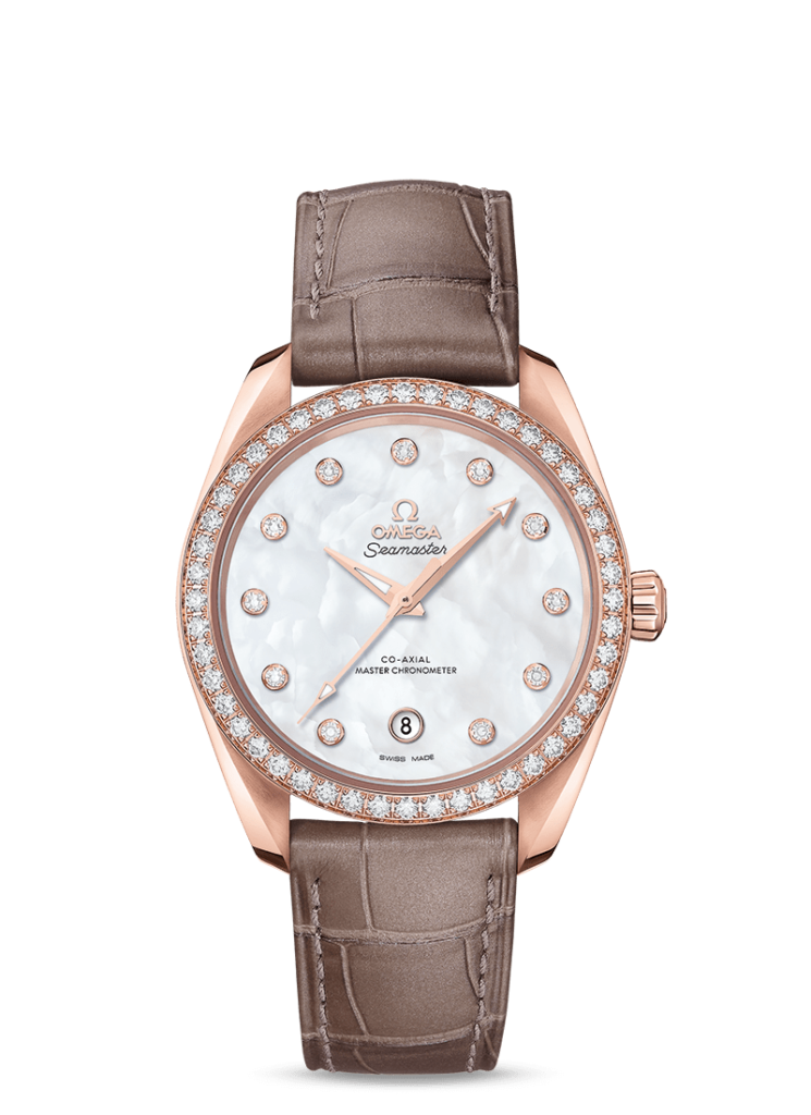 Omega AQUA TERRA 150M OMEGA CO‑AXIAL MASTER CHRONOMETER LADIES' 38 MM