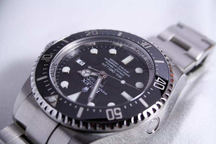AUTOMATIC WATCH ROLEX SEA-DWELLER DEEPSEA 116660 STEEL WRIST WATCH