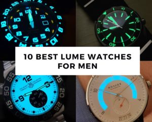 10 Best Lume Watches For Men You Can Buy 2021