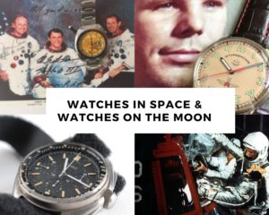 7 Watches on the Moon and in Space Missions