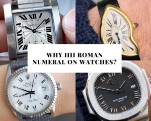 Why Is Roman Numeral IIII and Not IV Used on Clocks and Watches?